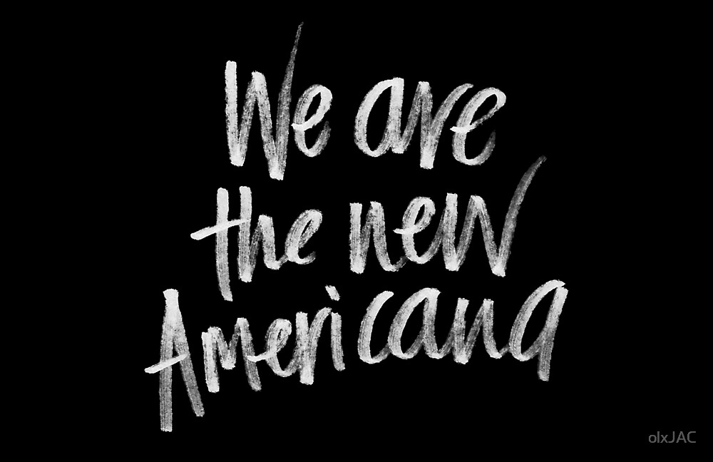 New Americana (white) by olxJAC