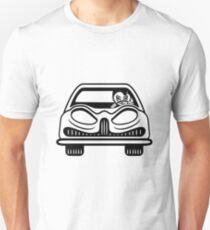 Car carriage evil driver Fahrzeugl T-Shirt