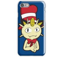 Meowth in the Hat iPhone Case/Skin