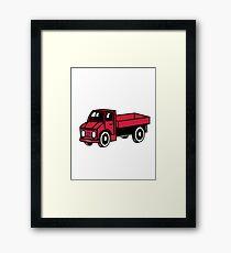 Car toys truck truck truck truck vehicle Framed Print