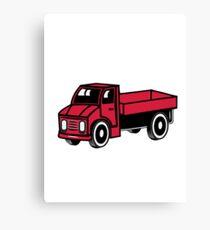 Car toys truck truck truck truck vehicle Canvas Print