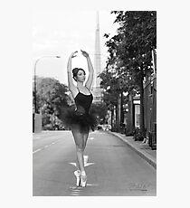 Street Ballerina  Photographic Print