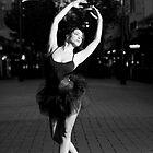 Street Ballerina 4 by Nigel Donald