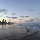 Gold Coast Beach  by Rhapsody