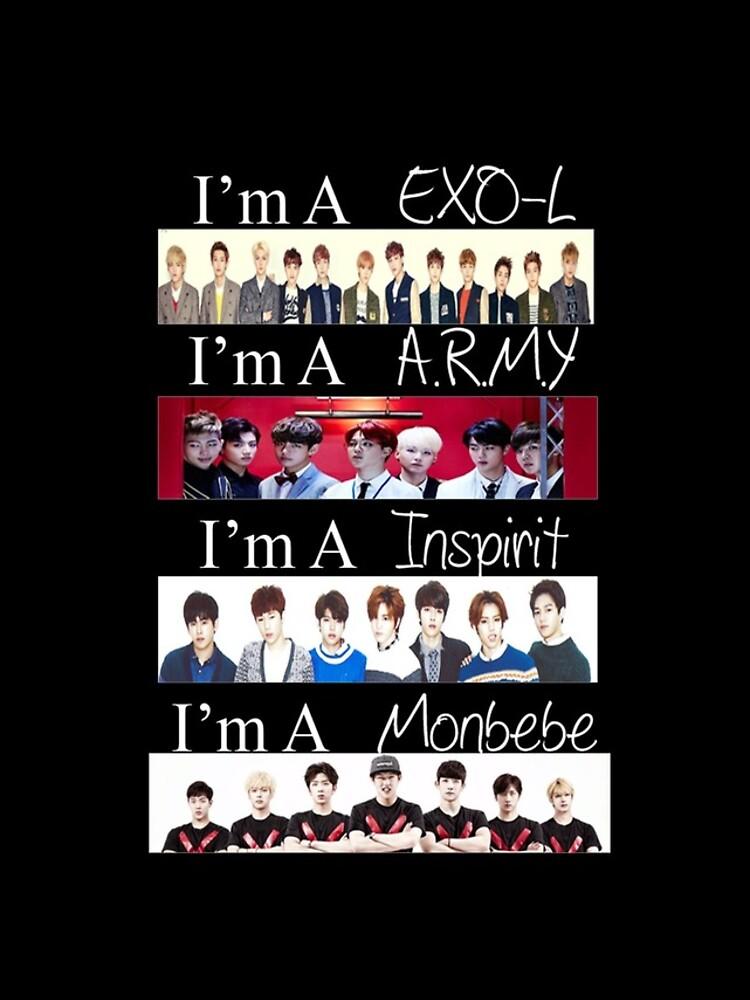 EXO, BTS, INFINITE und MONSTA X - Ich bin ein Fan von CasperHasNoJams