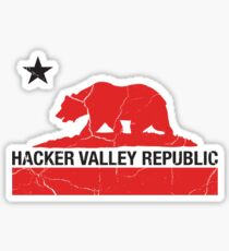 Hacker Valley Republic Sticker