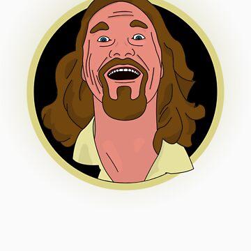 The Dude Cartoon by DickChappy01
