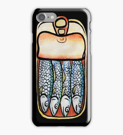 Lata De Pescado iPhone Case/Skin