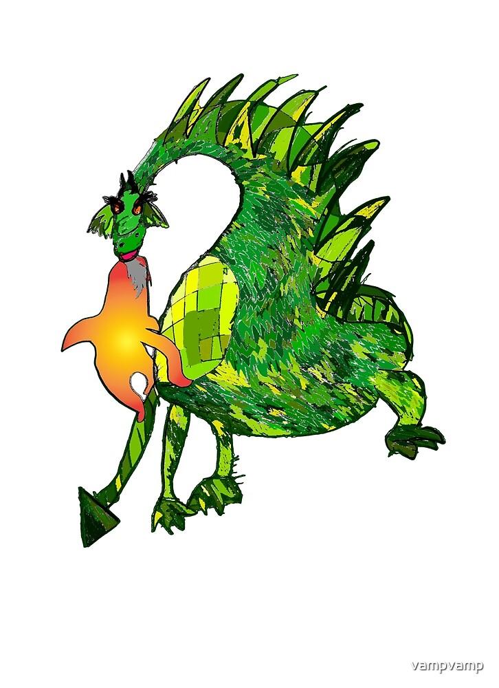 fire dragon by vampvamp