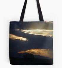 Arizona Rain Clouds Tote Bag