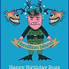 Happy Birthday Buzz by Tom Godfrey