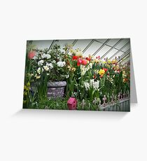 Flower Show Time! Greeting Card