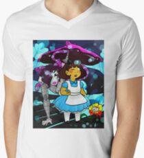 Undertale - Frisk in Wonderland Men's V-Neck T-Shirt