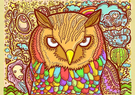 Owl by fionfairyland