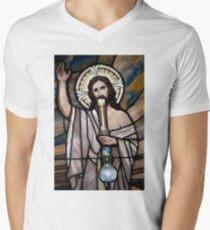 Jesus Hittin a Bong T-Shirt