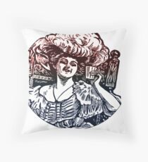 Raise your glass Throw Pillow