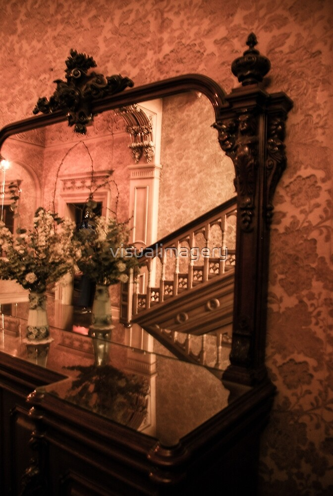 Flowers inside Ripponlea by visualimagery