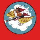 301st Fighter Squadron Emblem by warbirdwear