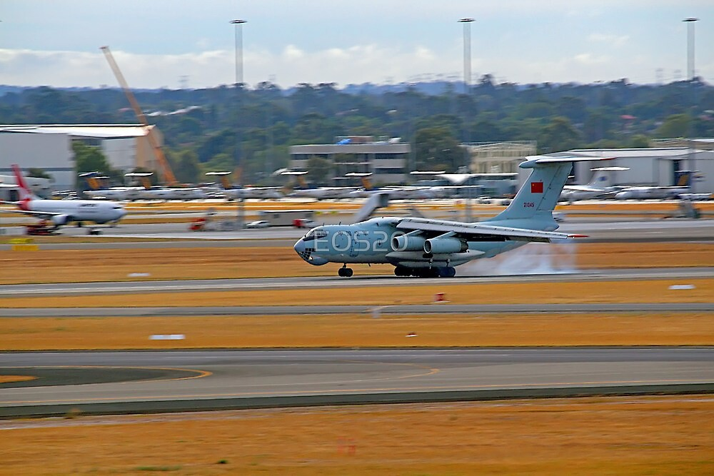 China Air Force Ilyushin Il-76 - Perth Airport by EOS20
