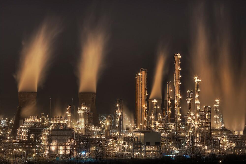 Grangemouth Refinery (4) by Karl Williams
