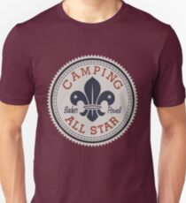 Camping All Star Unisex T-Shirt