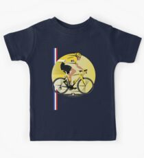 France Yellow Jersey Kids Tee