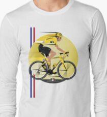France Yellow Jersey Long Sleeve T-Shirt