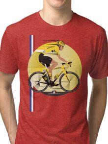 France Yellow Jersey Tri-blend T-Shirt