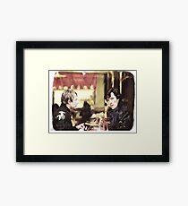 cafe. Framed Print