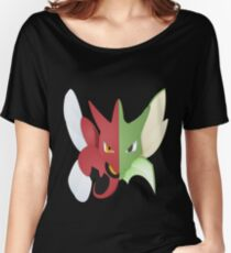 Syther #123 and Scizor #212 Women's Relaxed Fit T-Shirt