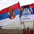 Flags on Epiphany by branko stanic
