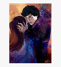 Sherlock and Molly Photographic Print