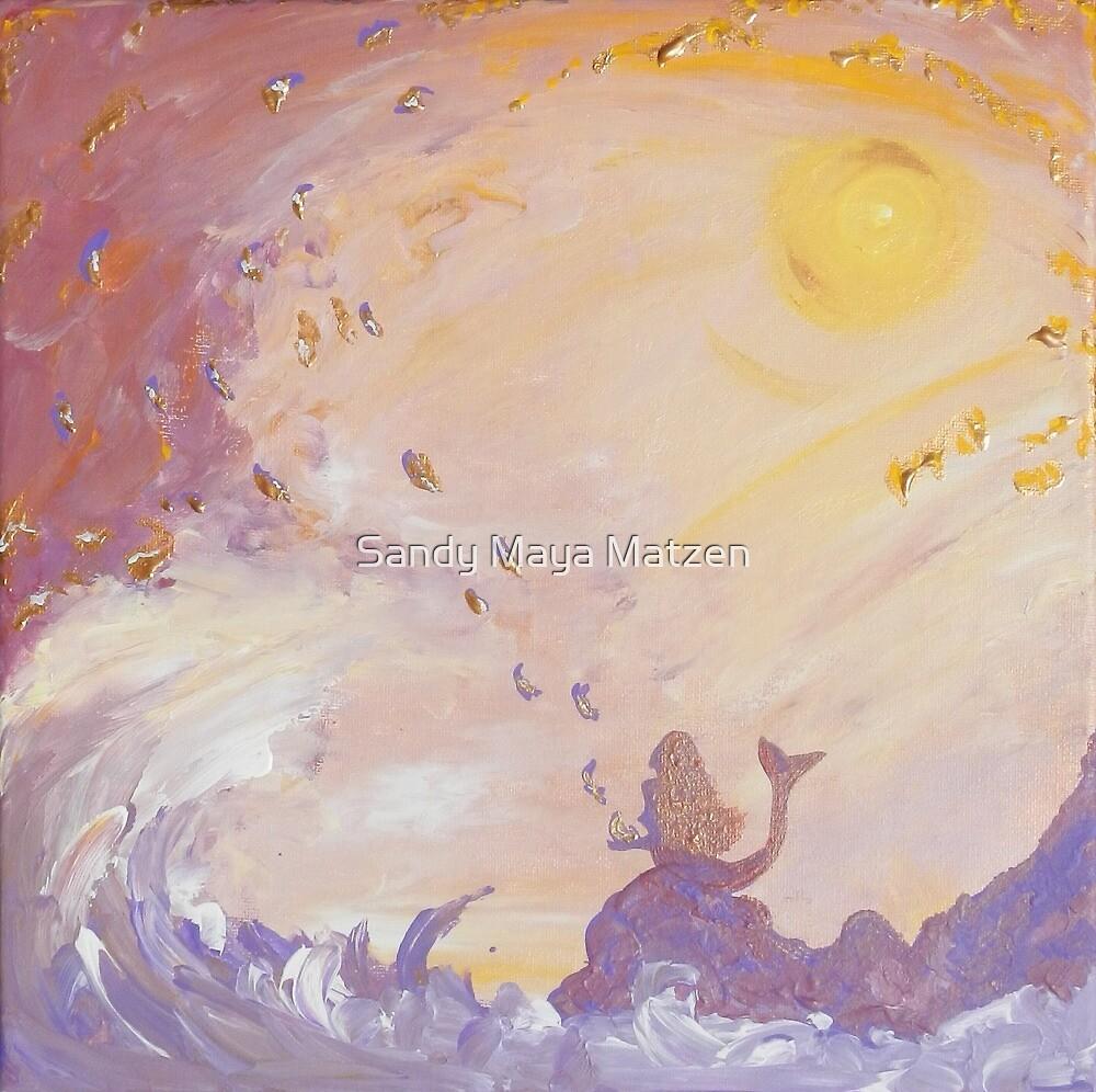 Meerjungfrauen von Sandy Maya Matzen