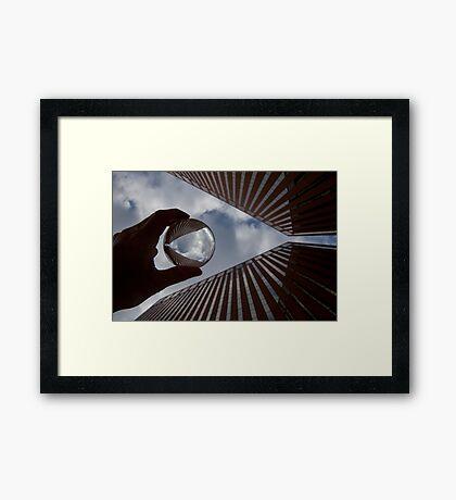 Bank Shot Framed Print
