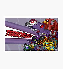 Team Predacon Photographic Print