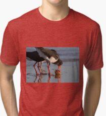 Sunset Food Scuffle Tri-blend T-Shirt