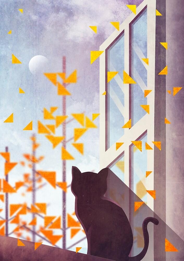 The Last Autumn Leaves by annisatiarau