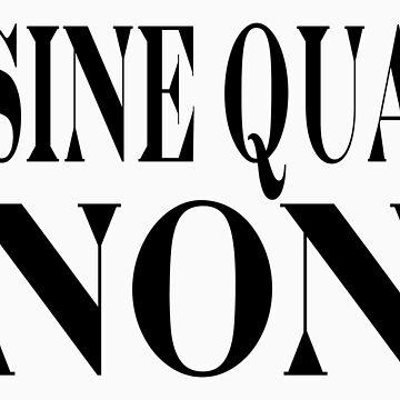 Famous Latin Quote : Sine Qua Non by tobiphoto
