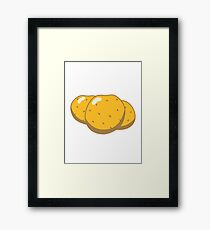 Vegetables potatoes nature garden Framed Print