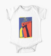 Retro Pop Art Guitarist Kids Clothes
