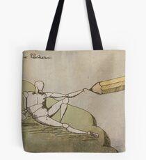 The Illustration of Adam Tote Bag