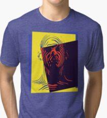 Pop Art Outline Man Tri-blend T-Shirt
