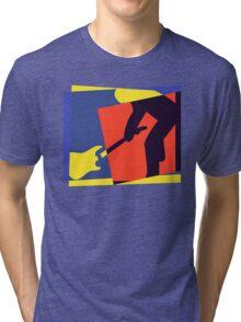Rock Guitar Smash Tri-blend T-Shirt