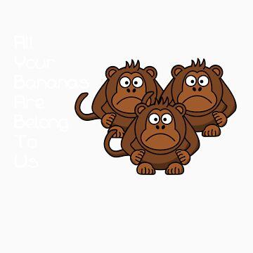 AYBABTU Monkeys Meme by Koniii