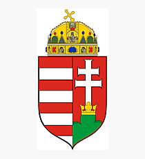Medieval Coat of Arms of Hungary  Photographic Print