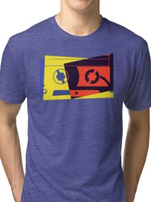 Pop Art Cassette Tape Tri-blend T-Shirt