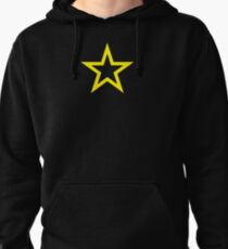 Gold Star Open Pullover Hoodie