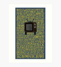 Lupe Fiasco - The Instrumental Art Print