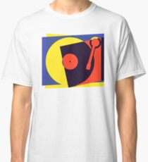 Pop Art Turntable Classic T-Shirt