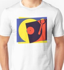 Pop Art Turntable T-Shirt